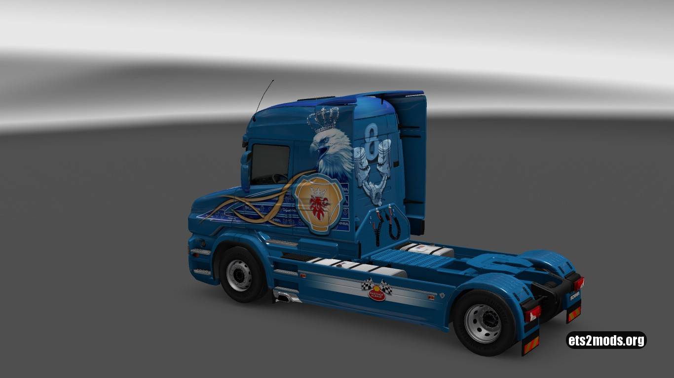 Highline STS Skin for Scania T