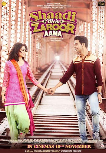 Watch online Shaadi Mein Zaroor Aana 2017 Hindi WEB-DL 300Mb 480p 720p Free Download bolly4ufree.in
