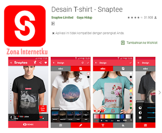 Desain T-shirt - Snaptee