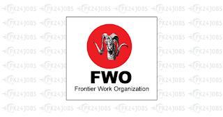FWO Jobs 2020 www.fwo.com.pk Apply Online Frontier Works Organization Latest