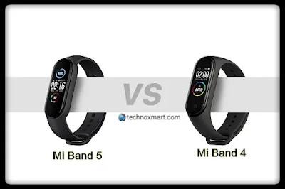 Mi Band 5 Vs Mi Band 4: Compare Price, Specifications & More Here