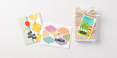 NEW! 10 Stampin' Up! Hey Chick & Hey Birthday Chick Project Ideas #stampinup #heychick