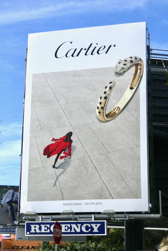 Cartier Panthere bracelet billboard