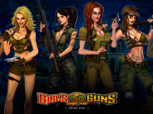 Girls With Guns - Jungle Heat free slot by Microgaming
