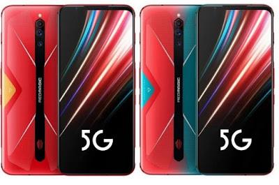 مواصفات و مميزات ZTE nubia Red Magic 5G