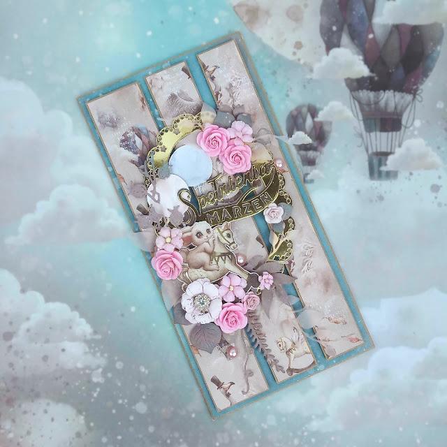 W krainie słodkich marzeń - kartka dla dziewczynki