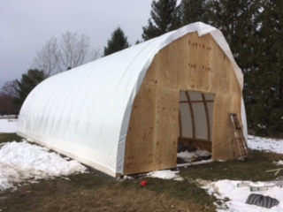 My Bow Roof Boat Shed