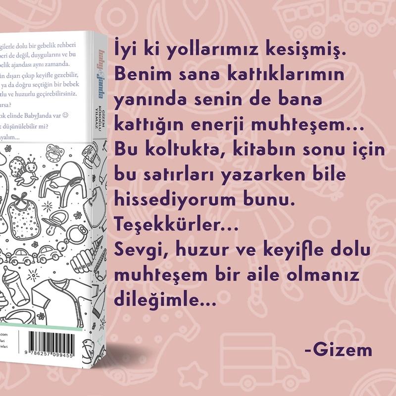 """Gizem Kösoğlu Yılmaz,  ilk kitabı """"BabyJanda"""" ile annelerin yanında"""