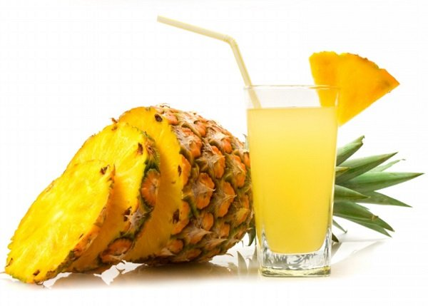What are the benefits of pineapple juice?