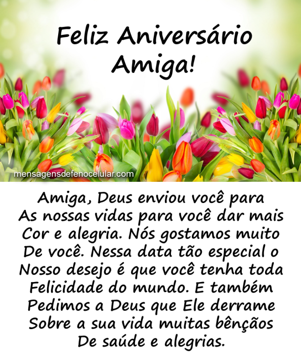 Tag Mensagem De Aniversario Para Amiga Evangelica Facebook