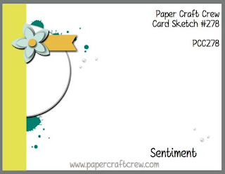Paper Craft Crew Card Sketch Challenge #PCC278 using Stampin' Up! products order from Mitosu Crafts UK Online Shop