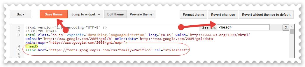 Blogger Blog Me Google Fonts Kaise Install Kare ?