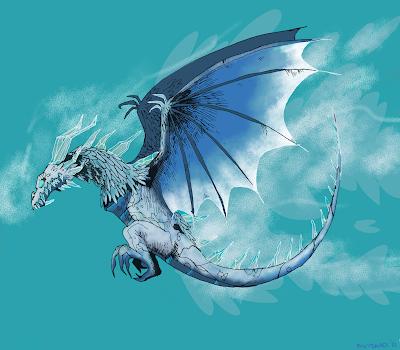 frost wyrm flying