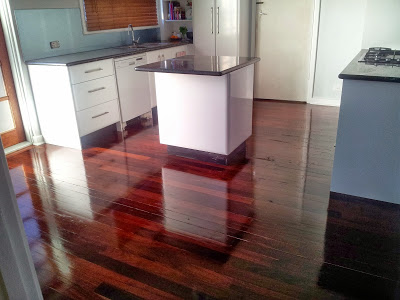 Jarrah Jungle: DIY: How To Restore Jarrah Floorboards