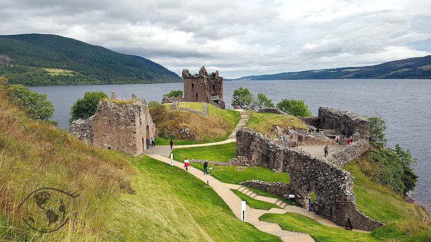 ruiny zamku w szkocji