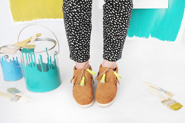 Tasseled Moccasins for Festival Season