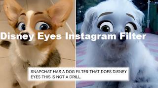 Disney Eyes Instagram Filter || How to Get Disney Cartoon Eyes Filter on Instagram