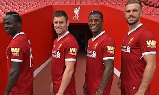 Liverpool sponsor Western Union ends partnership with the English champion.