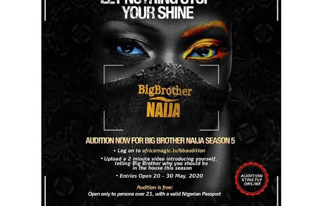 Big Brother Naija 2020 Season 5, How To Apply