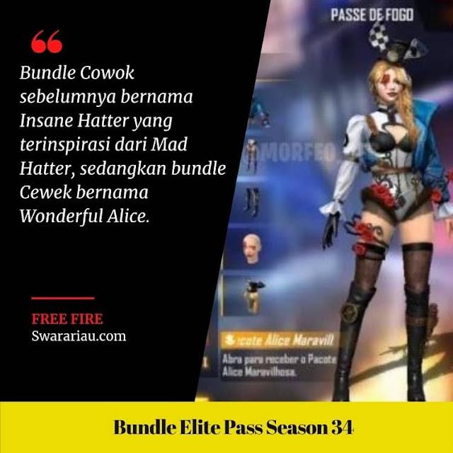 Bundle Cewek Elite Pass Season 34