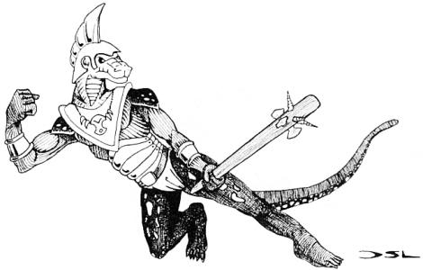Anniceris: [Ecailles] Hommes-Lézards dans D&D : (1) 1975-1982