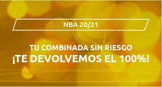 Mondobets Apuesta combinada sin riesgo NBA hasta 11 abril 2021