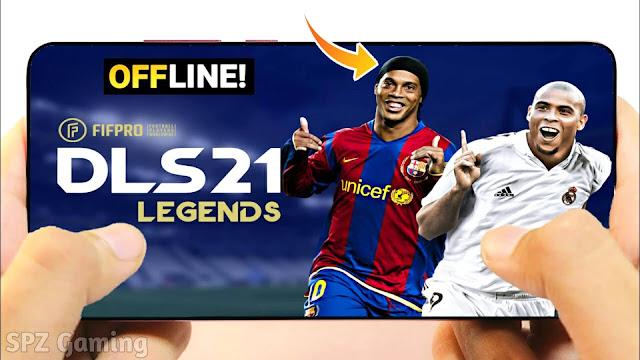 Download DLS 2021 Legends Android Offline 400 MB Best Graphics - Dream League Soccer 21 Legends