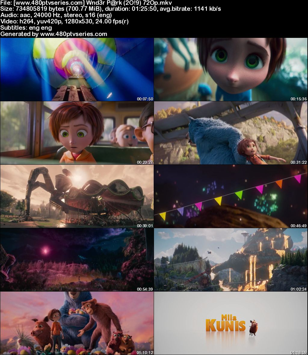 Watch Online Free Wonder Park (2019) Full Hindi Dual Audio Movie Download 480p 720p Bluray