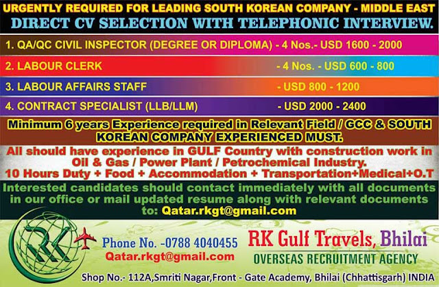 OIl & Gas, Power Plant, Petrochemical Industry Job Listings