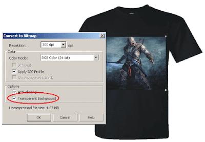 Membuat Efek Blur atau Transparan pada Tepi Objek Bitmap di CorelDRAW