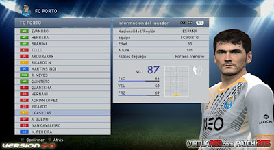 PES 2015 VirtuaRED.com Patch 2015 Season 2015/2016