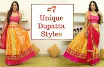 Easy DIY: Style Dupatta In 7 Unique & Different Ways | Shruti Arjun Anand