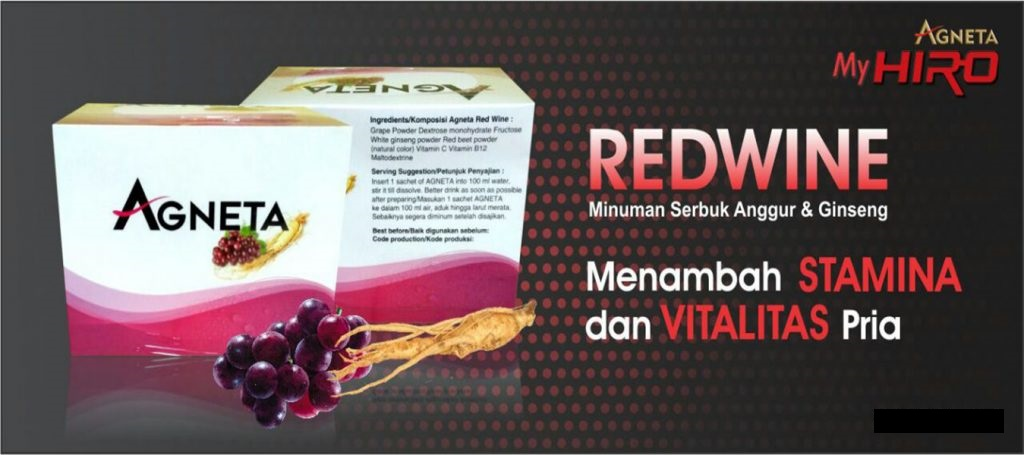 AGNETA RED WINE NEW TRICA JUS INDONESIA