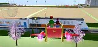 Kereta Api Indonesia Di Sakura School Simulator