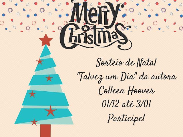 Sorteio de Natal: Talvez um Dia da Collen Hoover