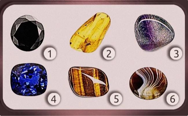 Тест-послание. Выбери камень и узнай своё послание от Вселенной