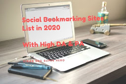 Social Bookmarking Sites List in 2020 With DA & PA