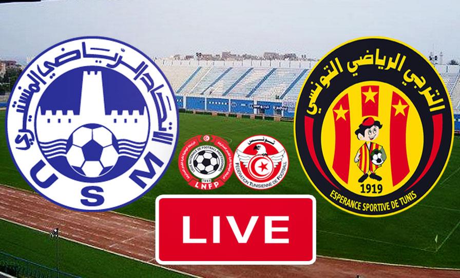 بث مباشر | مشاهدة مباراة الاتحاد المنستيري و الترجي الرياضي التونسي في الدوري التونسي