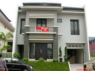 contoh gambar rumah minimalis modern 1 & 2 lantai model