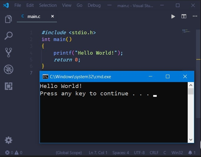 How to compile C/C++ program in VS Code | 9to5Programmer