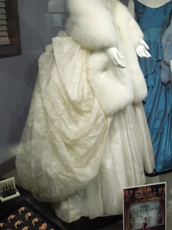 Anna Karenina opera gown bustle