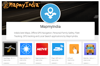 MapmyIndia - Indian software developer - Indian app for navigation and map