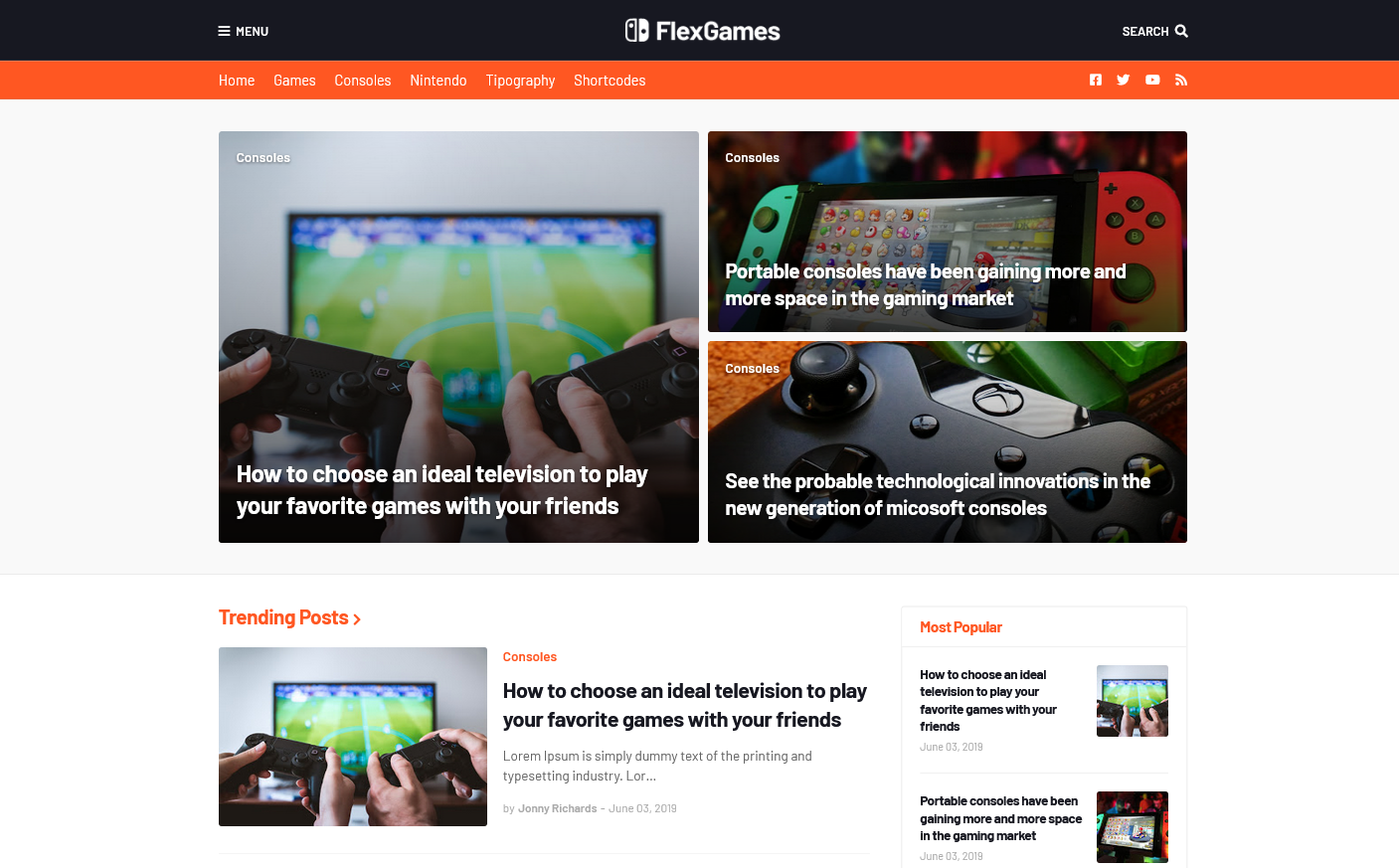 FlexNews - Responsive Blog & Magazine Blogger Template flexnews blogger template free download flexnews - responsive blog & magazine blogger template FlexNews Premium - Responsive Blog & Magazine Blogger   FlexNews Premium - Responsive Blog & Magazine Blogger Templates.  FlexNews is a fast, flexible & powerful Blogger template for News, Blog and Magazine websites. FlexNews is totally  USD 9.00 · Main LinkDownload Now Server 2Second LinkDownload Now · [Free ] Igniplex 2.6 - Premium Blogger Template   Flexnews Blogger Template Responsive and Seo Optimized   Mar 21, 2020 - Flexnews blogger template is responsive and seo optimized theme. You can use this blogger theme for magazine and news related blog.  FlexNews Blogger Template Premium Free Download  19-Jun-2019 — FlexNews is a fast, flexible &aml powerful Blogger template for News, Blog and Magazine websites. FlexNews Blogger Template is totally cust  [Free Download] FlexNews - Responsive Blog  - BigNulled  Free Download FlexNews – Responsive Blog & Magazine Blogger Template (Nulled) Latest Version FlexNews is a fast, flexible & powerful Blogger template for  Missing: premium   Must include: premium  FlexNews Blogger Template Premium Free Download 2021  24-Mar-2021 — FlexNews Blogger Template Premium Free Download 2021, professional blogger templates free, premium blogger templates cracked, xml   FlexNews - Responsive Blog & Magazine Blogger Template   Support for Premium - Contact Us. - v1.1.0 – 3 July 2019 Fixed: LightBox mode does not work in some cases. Improved: Transition in the Slide Menu. - v1.  FlexNews - Responsive Blog & Magazine Blogger Template  FlexNews is a premium responsive Blog & Magazine Blogger Template. It is a fast,  So Download FlexNews  01-Jan-2021 · Uploaded by Templateify  [Free Download] FlexNews - Responsive Blog  - NullPress  19-Jun-2019 — Free download FlexNews - Responsive Blog & Magazine Blogger Template Nulled. This item was published on themeforest.net and sold by.  FlexNews - Respon