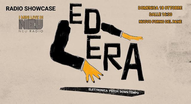 NEU Radio showcase @ MAMBO: Edera live