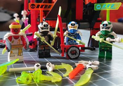 LEGO Ninjago Temple 71712 review minifigures sushichef etc