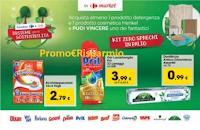 Logo Vinci Kit ''Zero sprechi'' con Carrefour e Henkel