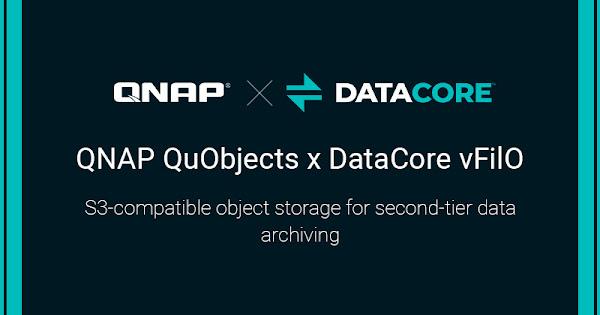 QNAP anuncia parceria com a DataCore