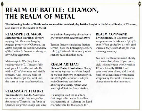 Reinos de Batalla: Chamon