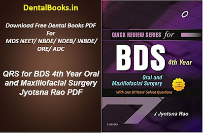 QRS for BDS 4th Year Oral and Maxillofacial Surgery Jyotsna Rao PDF