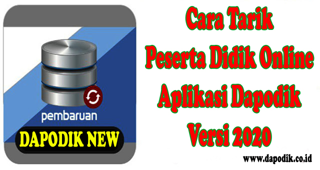 Cara Tarik Peserta Didik Online Aplikasi Dapodik Versi ...
